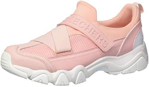 Skechers Women's D'Lites 2.0-Best Bet Sneaker, Light Pink, 11 M ()