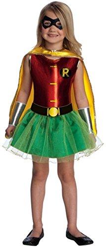Robin Tutu Kids Costume - Medium - Robin Girl Costume Tutu