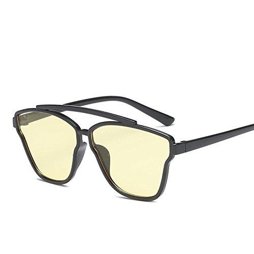 Aoligei Européenne de dames hommes lunettes de soleil lunettes de soleil rétro MwwtHbb8I4