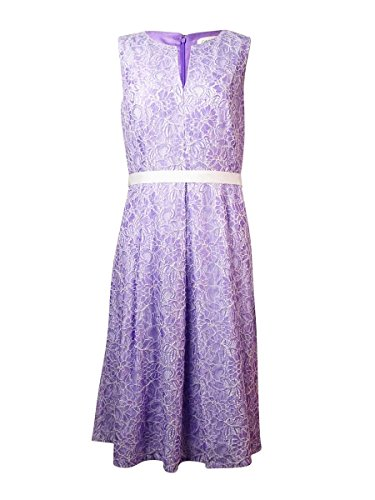 Buy belted lace sheath dress - 1