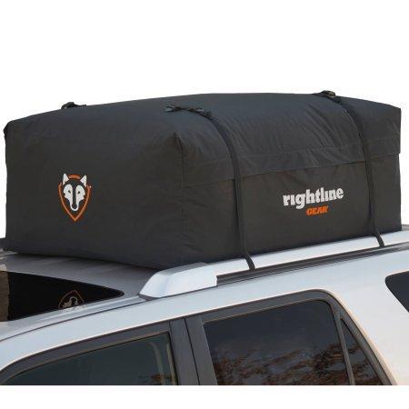 "Rightline Gear Car Top Cargo Bag, 100W20-15 cu ft/(44"" L x 34"" W x 17"" H) - Waterproof"