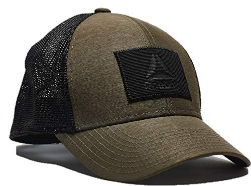 Reebok Men's Heathered Flex mesh Back Hat