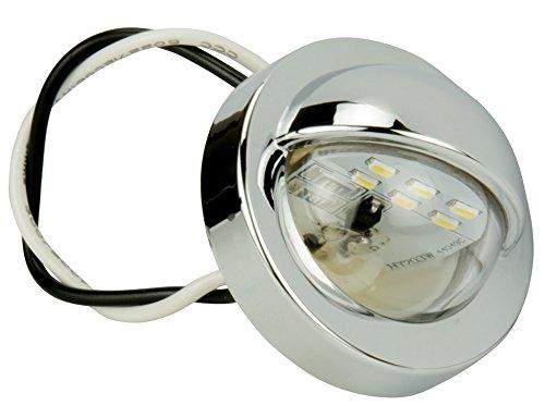 Blazer B165 LED Round Snap-In License Utility Light