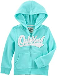 OshKosh Girls' Full Zip Logo Ho