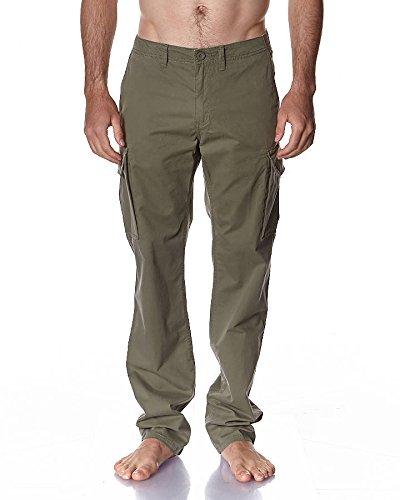 5e649e1a6a3242 Vans Men s Off The Wall Pariso Cargo Pants-Green-32 - Buy Online in ...