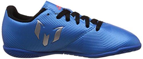 adidas Messi 16.4 In J, Botas de Fútbol para Niños Azul (Azuimp / Plamat / Negbas)