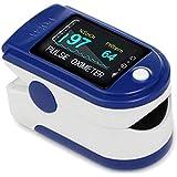 Oxímetro de Pulso de Dedo con Pantalla, Monitor Digital para Determinar con Precisión el Nivel de Oxígeno en la Sangre (SpO2)