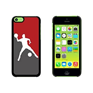 Dodgeball - Sport Snap On Hard Protective Case for Apple iPhone 5 5s - Black