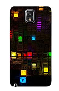 Exultantor Fashion Protective Abstract Artistic Case Cover For Galaxy Note 3