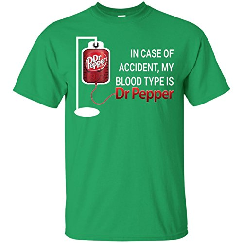 KeyVic In Case Of Accident My Blood Type Is Dr Pepper T-Shirt