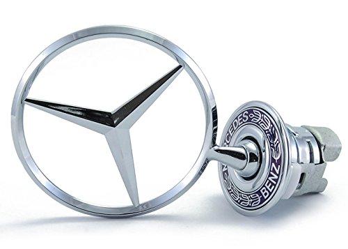 Mercedes Benz E320 - Mercedes Benz Hood Star Genuine Emblem W124 W210 E-Class W202 W203 C Class W204 C Class W220 S Class 1994-2007