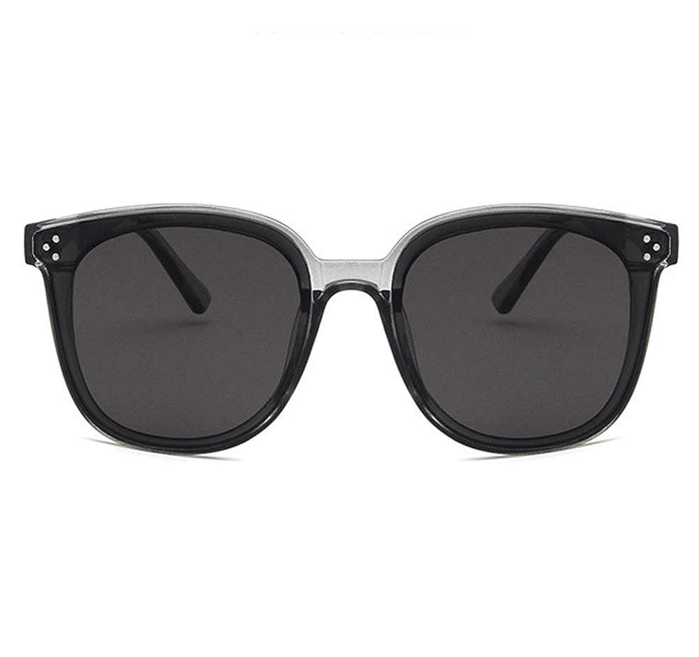 Unisex Sunglasses Fashion Bright Black Grey Drive Holiday Square Non-Polarized UV400