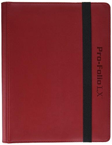 Pro-Folio 9-Pocket LX Album, Red