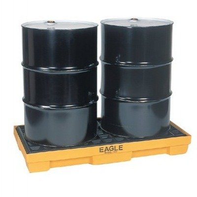 Eagle 1632 Modular Spill Control Platform; 2-drum, 30-gallon capacity
