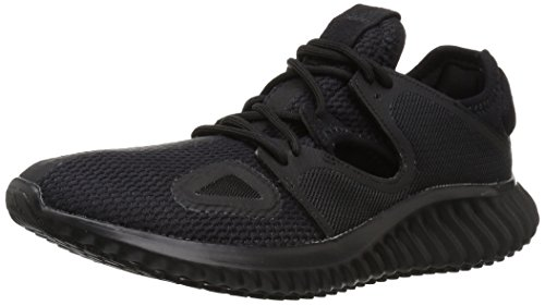 adidas Women's Lux Clima w Running Shoe Carbon/core Black, 11 M US
