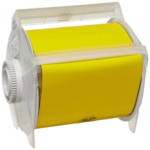 Brady 76688 GlobalMark 25' Length x 4.25'' Width B-509 Magnetic Supply, Yellow Tape by Brady