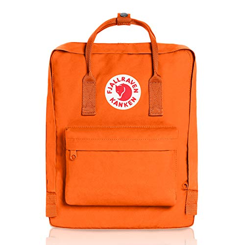 Fjallraven - Kanken Classic Pack, Heritage and Responsibility Since 1960, One Size,Burnt Orange ()