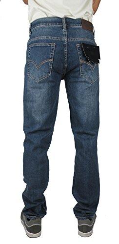 T&K Herren Jeanshose blau Stonewash XX-Large