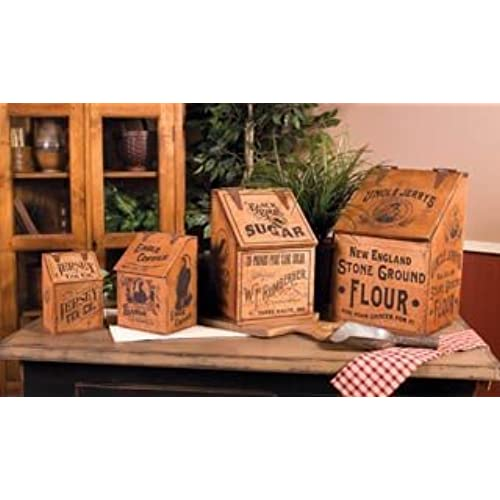 Rustic Canister Sets >> Rustic Kitchen Canisters Amazon Com