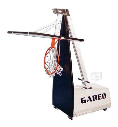 Gared Mini E-Z 48 Inch Adjustable Portable Basketball Hoop