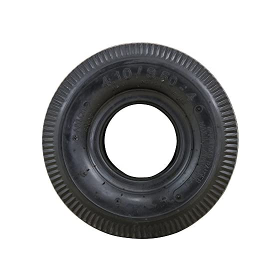 Marathon 4.10/3.50-4″ Pneumatic (Air Filled) Hand Truck / All Purpose Utility Tire and Inner Tube