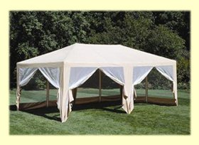 Formosa Covers Sun Mart Deluxe Screen House Party Tent