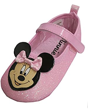 Minnie Mouse Girls Pink Mary Jane Dress Shoes - Infant