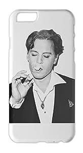 Johnny Depp Smoking Vintage Black And White Iphone 6 plus case