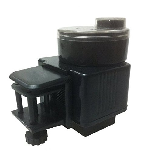 Fish Feeder, KLAREN Automatic Fish Feeder, Aquarium Tank Pond Auto Fish Turtle Food Timer Feeder LCD Feeding 2003D (Batteries Included)