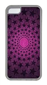 iPhone 5c case, Cute Star Circles iPhone 5c Cover, iPhone 5c Cases, Soft Clear iPhone 5c Covers