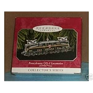 Hallmark Keepsake Ornament - Pennsylvania GG-1 Locomotive Lionel 1998 (QX6346)