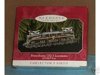 Pennsylvania Locomotive 1 Gg (Hallmark Keepsake Ornament - Pennsylvania GG-1 Locomotive Lionel 1998 (QX6346))