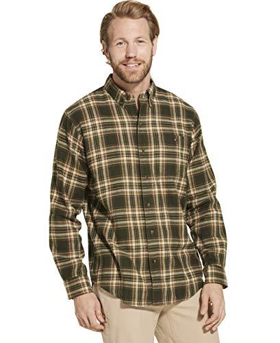 Good Flannel - Dam Good Supply Co Men's Long Sleeve Flannel Shirt Large Rosin 3