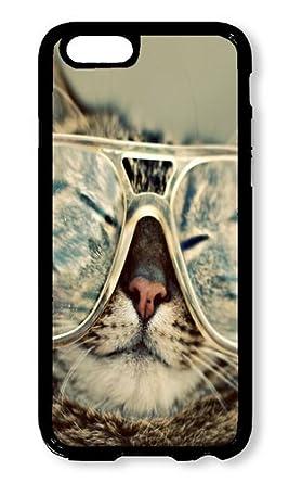 ba9c2503189 iPhone 6 Plus/6s Plus Funda aoffly? Hipster Gato Negro PC Hard Case Para Apple  iPhone 6 Plus/6s Plus De 5,5 Pulgadas Case: Amazon.es: Electrónica