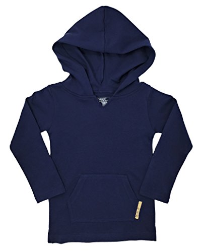 L'ovedbaby L'bKIDS Organic Hoodies - Unisex Toddler/Kids Hooded Shirt (4T, (Navy Blue Toddler Sweatshirt)