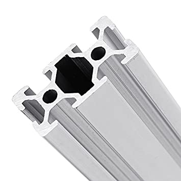 MYAMIA 500Mm Longitud 2040 T-Slot Aluminio Perfiles De Extrusión ...