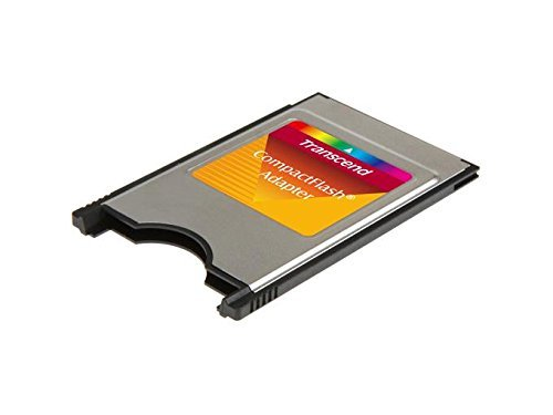 Pcmcia Flash Adapter (TRANSCEND PCMCIA ATA ADAPTER FOR CF CARD - Sold as 2 Packs)