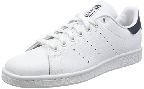 Les Hommes Adidas Chaussures De Sport Blanches Stan Smith (ftwwht / Ftwwht / Conavy)