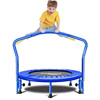 Gardenature Trampoline-36 Portable Trampoline for Kids-Blue
