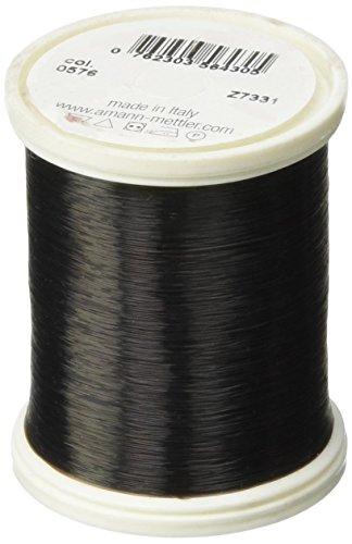 Mettler Transfil Monofilament Thread 100% Nylon 1,094 Yards-Smoke Review
