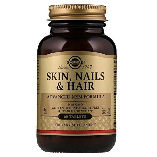 Solgar - Skin, Nails and Hair, Advanced MSM Formula, 60 Tablets