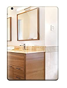 Kyle Spaulding NxeHmez17710PIuOd Case For Ipad Air With Nice Contemporary Bathroom With Onyx Countertop Appearance