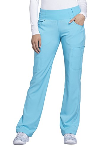 Cherokee iFlex CK002 Mid Rise Pull-On Pant Turquoise M