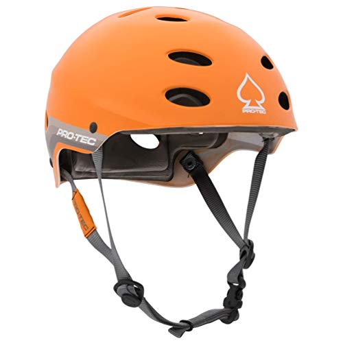 - Pro-Tec - Ace Water Helmet, Satin Orange Retro, L