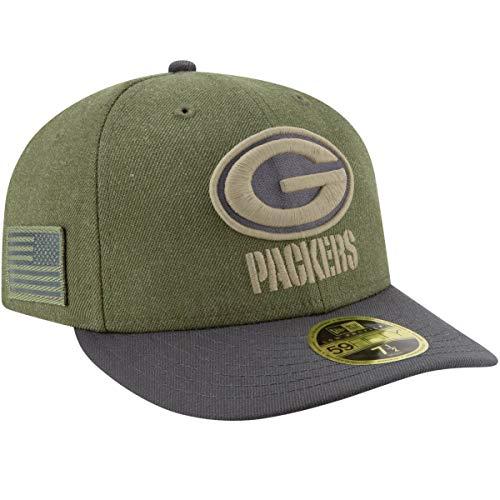 無一文チューブ意味のあるニューエラ (New Era) 59フィフティ LP キャップ - Salute to Service グリーンベイ?パッカーズ (Packers)
