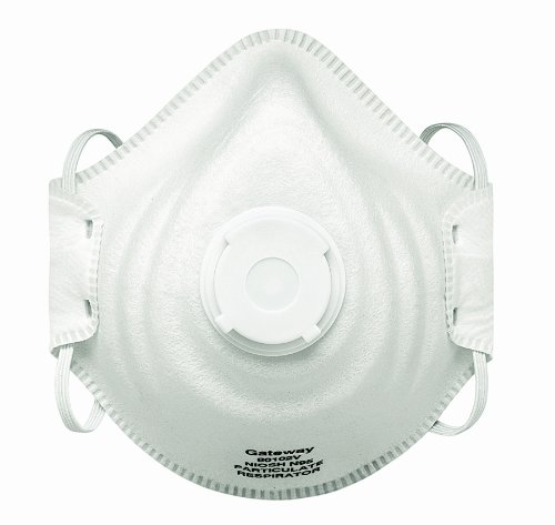 Gateway Safety 80102V PeakFit Vented N95 Particulate Respirator (Box of 10)
