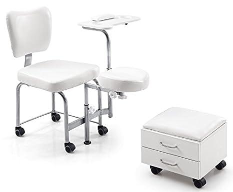 Poltrona podologica pedicure estetica massaggio piede lettino mail