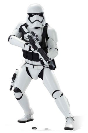 Stormtrooper (SW: TFA cartonato) Cut out STAR CUTOUTS SC832
