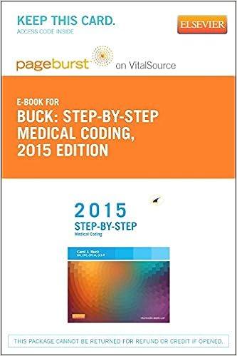Téléchargez des livres gratuitement pour ipadStep-by-Step Medical Coding, 2015 Edition - Elsevier eBook on VitalSource (Retail Access Card), 1e en français iBook