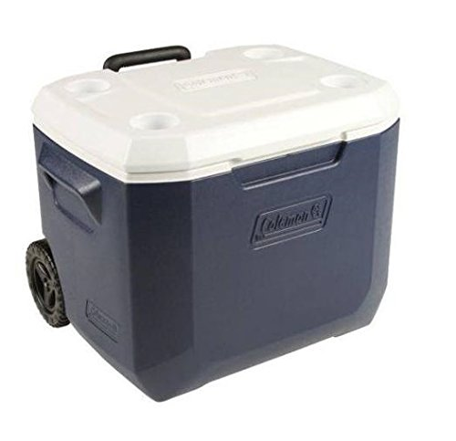 Coleman 50 Quart Xtreme® 5 Wheeled Cooler-Newly Designed Dark Blue